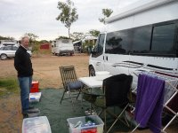 our camp at Longreach