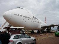 at the Qantas museum Longreach