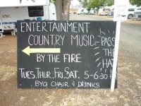 entertainments for grey nomads!