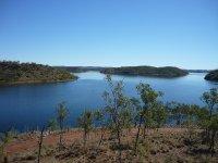 scene of Lake Moondarra