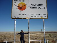 the border Qld to NT