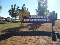 overnight at Barkly Homestead roadhouse