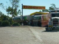 Threeways roadhouse - a road train