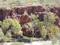 Trephina Gorge rock