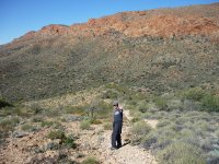 walking around Desert Park