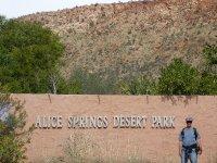 entrance to Desert Park museum