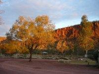 sunset @ Glen Helen resort