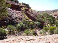 Valley of the Winds walk at Olgas