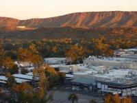 sunset on Alice Springs