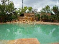 rock pool at Gagudju Lodge, Cooinda, Kakadu NP