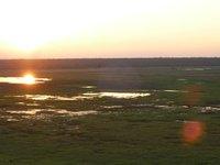 wetlands sunset at Ubirr