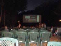 under the stars deck chair cinema
