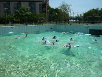 wave pool at Darwin wharf precinct