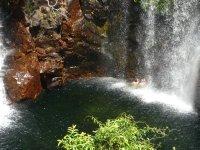swimming at Florence Falls