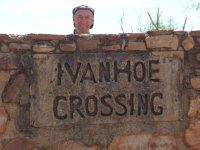 crossing Ivanhoe?