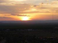 sunset at Kununurra lookout
