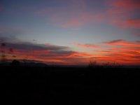 sunset at lookout Kununurra