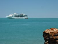 P&O cruise visiting Broome
