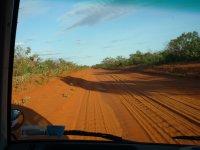Pindan dirt road