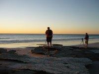 photographers of sunset worship