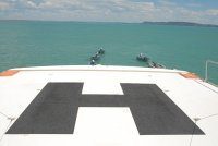 helipad on our liner