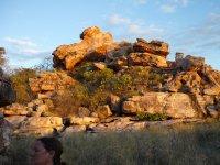sandstone etc. boulders at Hunter River