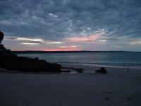sunset at Hanover Bay