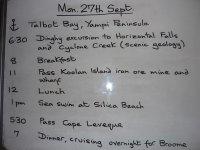 the last day menu
