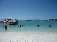 swim at silica beach