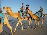 blond nomads on beach!