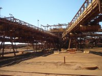 spaghetti junction at BHP iron ore plant