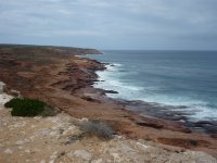 Kalbarri cliffs - years of erosion and also a whale lookout
