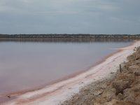pink lake of beta-carotene at Kalbarri