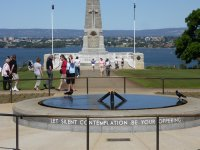 memorial to diggers at Kings Park