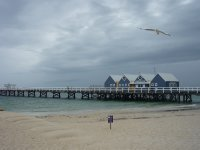 the souvenir shop on Busselton jetty