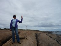 Dutch person exploring Cape Leeuwin