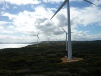 Albany's electricity supply - wind farm by Verve energy