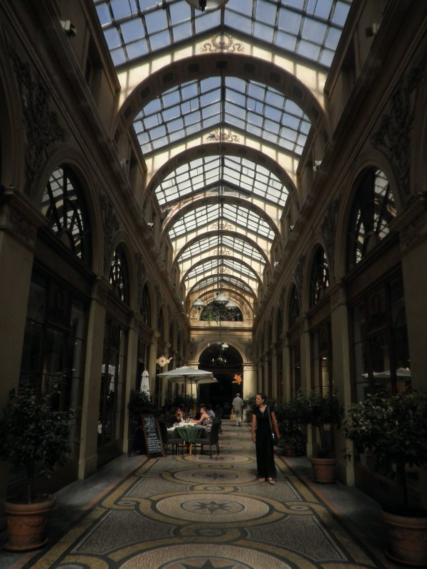An 1880's passage in the Marais