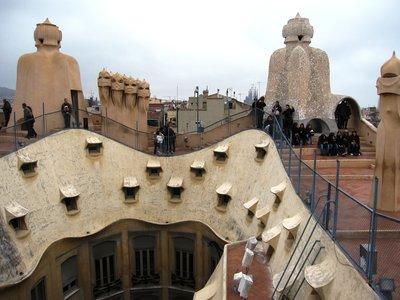 La Pedrera Roof Terrace