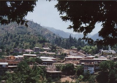 Village nr Murree Hills
