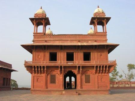 Outside Agra