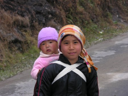 Kids in Sikkim