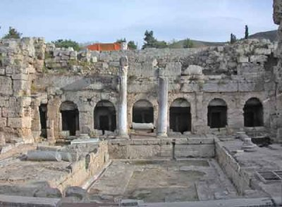 Corinth Roman Fountain