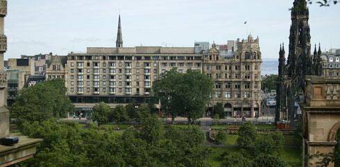 Ramada Jarvis hotel in Edinburgh