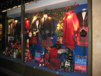 Kilt shop- Buchanan Street
