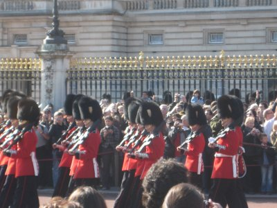 Changing of the Guard- Buckingham Palace