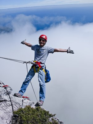 A Leap of Faith: Abseiling Table Mountain!