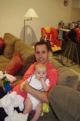Greg and Baby Isaac