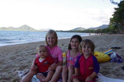 Isaac, Claudia, Kate and Nadia