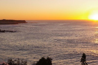 Sunrise over Coogee Beach